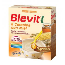 Blevit Plus Superfibra 8 Cereales / Miel 600g