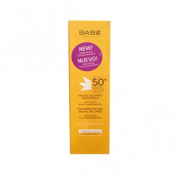 Babe Fotoprotector Facial 50+ Oilfree 50ml