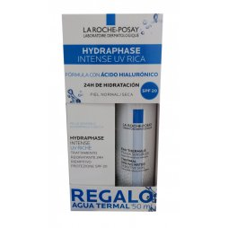 La Roche Hydraphase Uv Rica+Agua Termal 50ml