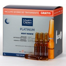 Martiderm Platinun Night Renew 30+5 ampollas