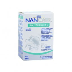 Nestle Nancare DHA Vitamina D & E 8ml